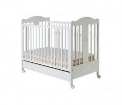 Dečiji krevetić tommy beli fioka ( 045 )