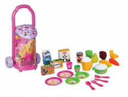 Dede Barbie Kolica sa posuđem i namirnicama ( 015089 )