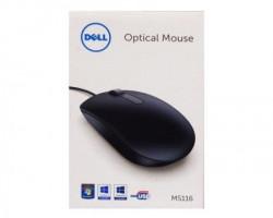 Dell MS116 USB Optical crni retail box miš