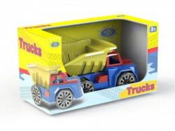 Dema-stil kamion kiper,mikser,djubretarac sa figurom ( DS07914 )