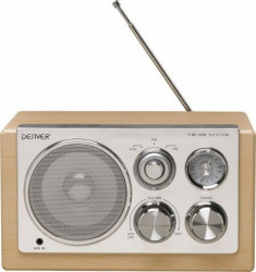Denver TR-64 Radio LIGHT WOOD