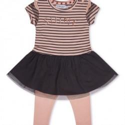 Dirkje komplet (haljina kr, helanke), devojčice ( A047311-80 )