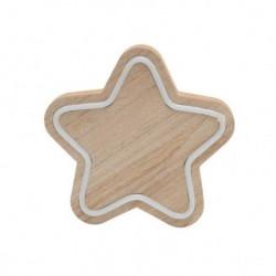 """Drvena stona dekoracija """"zvezda"""" ( KAD27 )"""