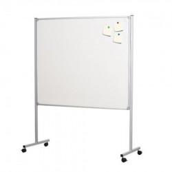 Dual board, dvostrana magnetna tabla sa postoljem, 120 x 140cm ( 492046 )