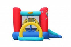 Dvorac za skakanje Bubble 4 u 1 - Trambolina na naduvavanje sa spustom 300x280x175