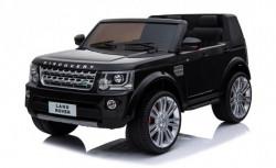 Dvosed Land Rover Discovery sa kožnim sedištima i mekim gumama - Crni