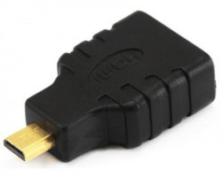 E-GREEN Adapter Micro HDMI (M) - HDMI (F) crni