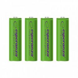 Esperanza EZA104G punjive baterije AA 2000mah 4 kom zelene