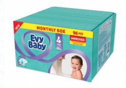 Evybaby pelene box 4 maxi 8-18kg 96kom ( A002787 )