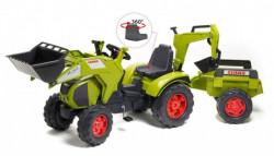 Falk Toys Traktor na pedale sa prikolicom i kašikom 1010y