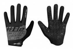 Force rukavice letnje mtb swipe crno-sive - l ( 905725-L )