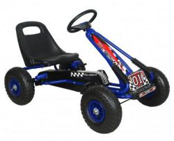 Formula na pedale Model 951 sa podesivim sedištem i gumama na naduvavanje - Plava