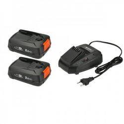 Gardena punjač za baterije i dve baterije 18v 2,5ah p4a set ( GA 14907-20 )