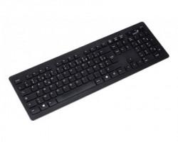 Genius SlimStar 126 USB US crna tastatura