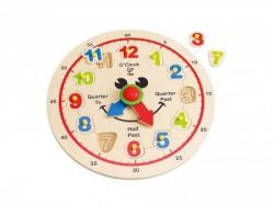 Hape drvena igračka slagalica sat ( E1600 )