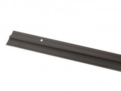 Hausmax lajsna za vrata sa gumom 1000mm alu crna ( 0252539 )