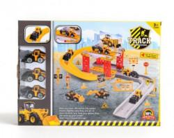 HK Mini igračka parking set građevinci ( A018072 )