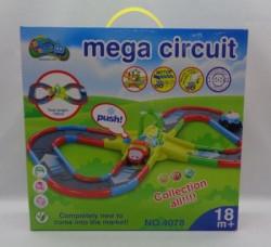 HK Mini igračka, set vozić-kružni put, 12m+ ( 6610019 )