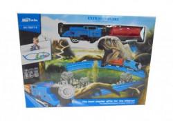 Hk Mini igračka voz sa dinosaursom ( 6211244 )
