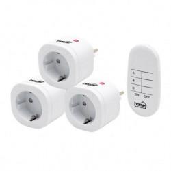 Home strujne utičnice sa daljinskim upravljačem 1+3 ( TH3013 )