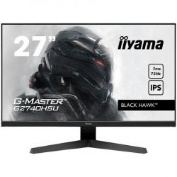 "Iiyama 27"" ETE IPS-panel gaming, g-master black hawk, FreeSync, 1920x1080@75Hz, 250cdm˛, HDMI, DisplayPort, 1ms (MPRT), speakers, USB-HUB ("