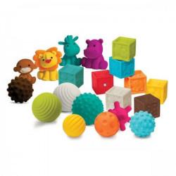 Infantino Sensory lopte kocke i drugari ( 115035 )
