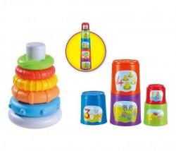 Infunbebe igracka za bebe combo set 2u1 (6m+) ( PL201-PL204 )