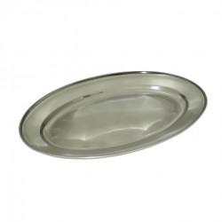 Inox ovalni poslužavnik, 40 cm ( 92-742000 )