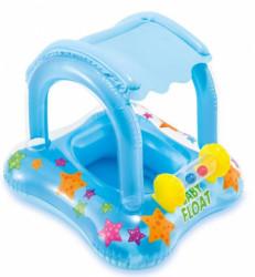 Intex baby dubak sa zaštitom od sunca i igračkom ( A021844 )
