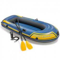 Intex čamac sa veslima i pumpom ( 14/68367NP )