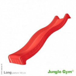 Jungle Gym - Tobogan Spust - Star Slide Long 265 cm ( crveni )