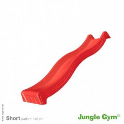 Jungle Gym - Tobogan Spust - Star Slide Short 220 cm ( crveni )