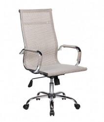 Kancelarijska fotelja 6001 od Mesh platna - Bela