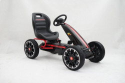Karting - Formula Abarth na pedale sa mekim gumama - Crni