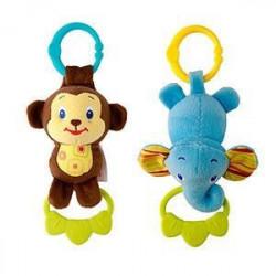 Kids II plišana igracka sa muzikom slon majmun 9179 ( SKU9179 )