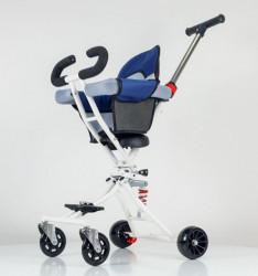 Kolica za decu MINI - Model 400 Sivo-plava