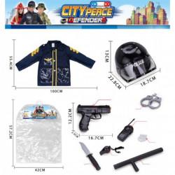 Kostim policajac sa pištoljem ( 24640 )