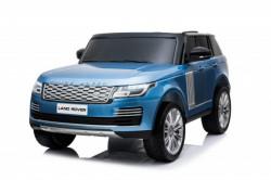 Land Rover Dvosed 4x4 Licencirani sa kožnim sedištima i mekim gumama - Plavi