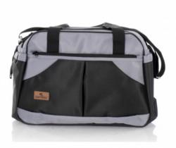 Lorelli torba za mame -sandra black&grey (2020) ( 10040220005 )