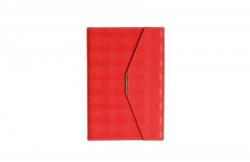 Lotus notes sa magnetnim preklopom A5 crvena ( 105.876.20 )