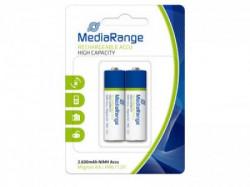Mediarange punjiva baterija AA 2600 Mah 1/2 blister ( LR6 2600 Mah )