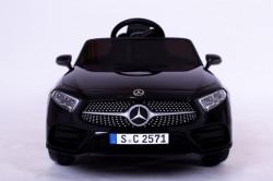 Mercedes CLS 350 Licencirani auto na akumulator sa kožnim sedištem i mekim gumama - Crni
