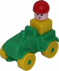 Mini traktor kocke 9 el. ( 055323 )