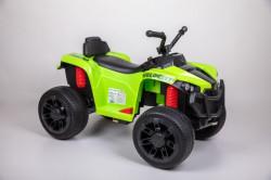 Motor Kvad na akumulator sa daljinskom kontrolom i mekim gumama - Zeleni
