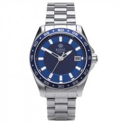 Muški Royal London Resident Plavi Elegantni ručni sat sa metalnim kaišem