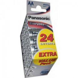 Panasonic baterije LR6EPS24PD=AA 24 kom Alkalne Everyday ( 02390219 )
