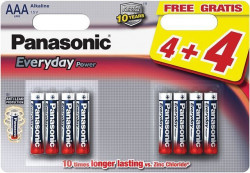 Panasonic LR03EPS/8BW AAA 8 kom Alkalne Everyday baterije