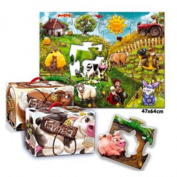 Pertini P-0148 krupna Farma puzzle 24pc ( 53 )