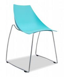 Plastična stolica SKI - Plava