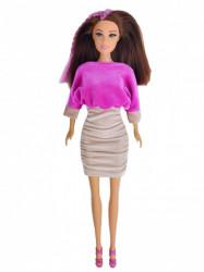 Plišana mini haljina ( H-13 )